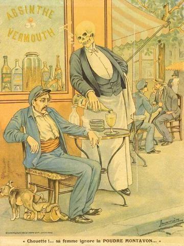 affiches anti alcooliques | Musee Virtuel de l'Absinthe - Le Monde des Antiquites d'Absinthe