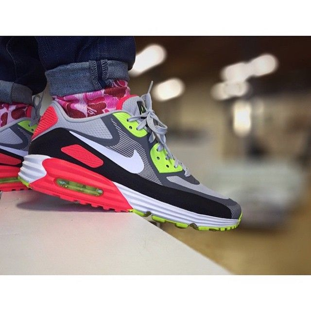 """6f4343865a99 """" sneakerboy79 in the Air Max Lunar90 Infrared Volt WR ⚪ the infrared has  been reinvented so many times"""