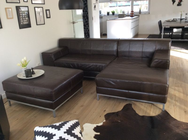 Sofa Recamiere Rechts Hocker Kramfors Ikea Wir Verkaufen Unser