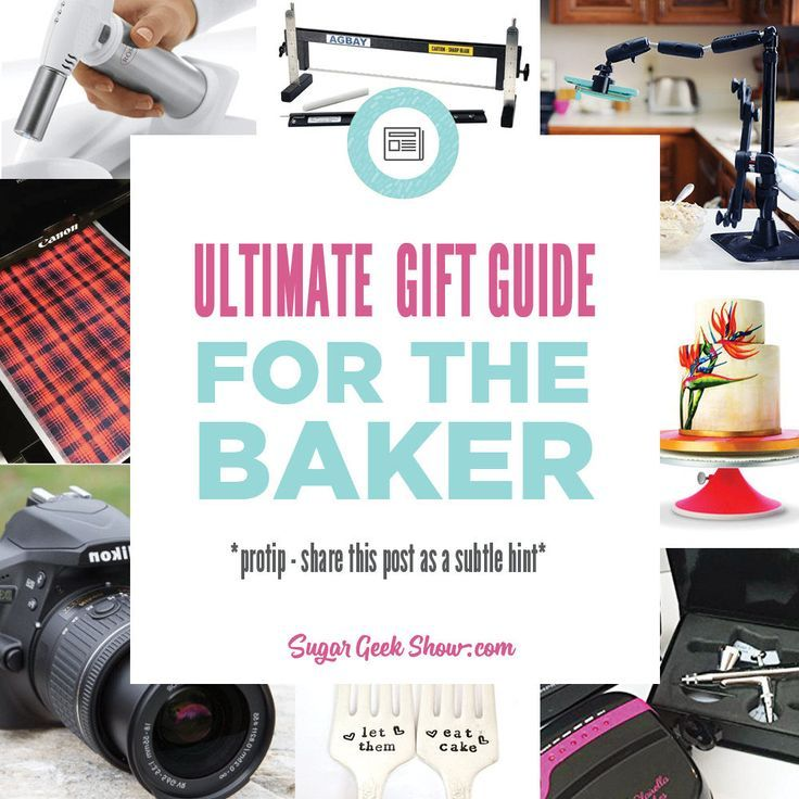 Gifts For Bakers (28 Awesome Gift Ideas) | Sugar Geek Show