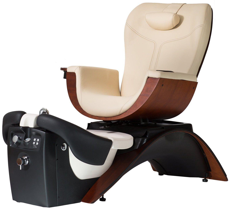 continuum maestro pedicure spa chair in + free cape co. apron ($20