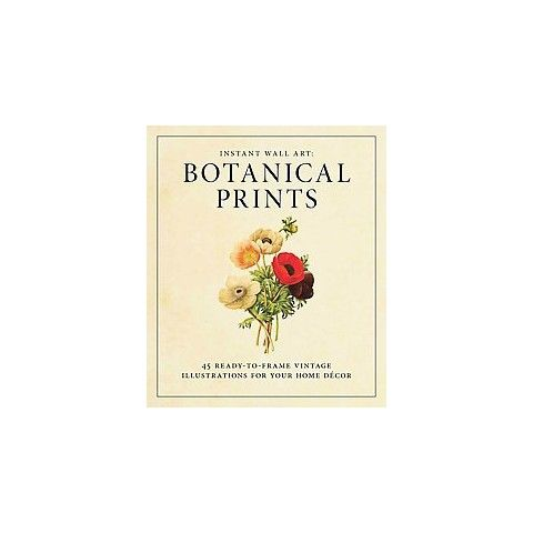 18.99 at Target Instant Wall Art - Botanical Prints (Paperback)