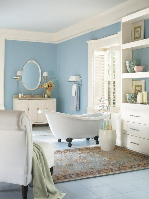 The Best Olympic Paint Colors: 10 Moody Blues | Indoor air quality ...