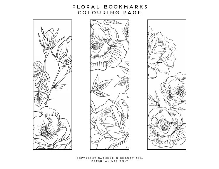 Free Printable Colouring Page Bookmarks Gathering Beauty Coloring Bookmarks Coloring Bookmarks Free Free Printable Bookmarks