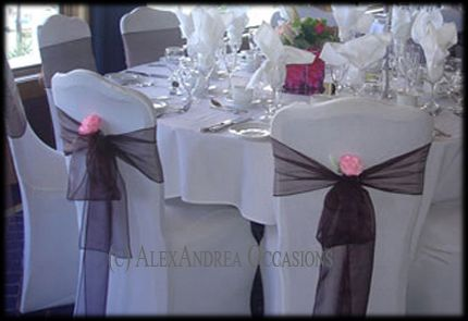 AlexAndrea Occasions Chair Covers London Chair Covers Essex - Wedding chair covers essex