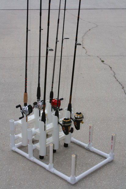 Pvc Modular Fishing Rod Holder Fishing Diy Fishing Rod