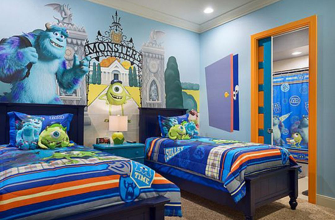 25 Beautiful Disney Bedroom Designs Ideas for Your ...