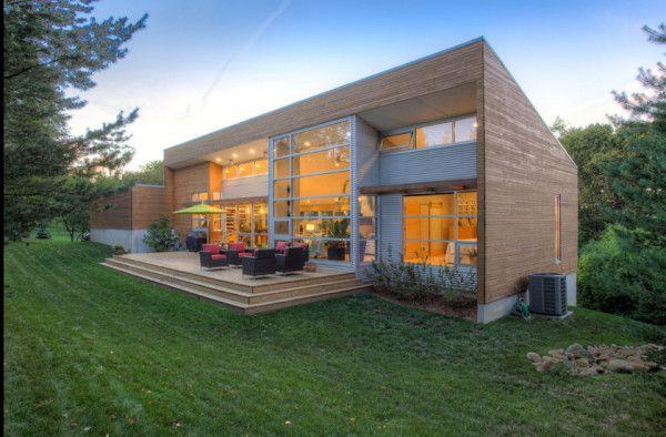 12 Metal Clad Contemporary Homes Exterior Design Modern Exterior Contemporary House Design
