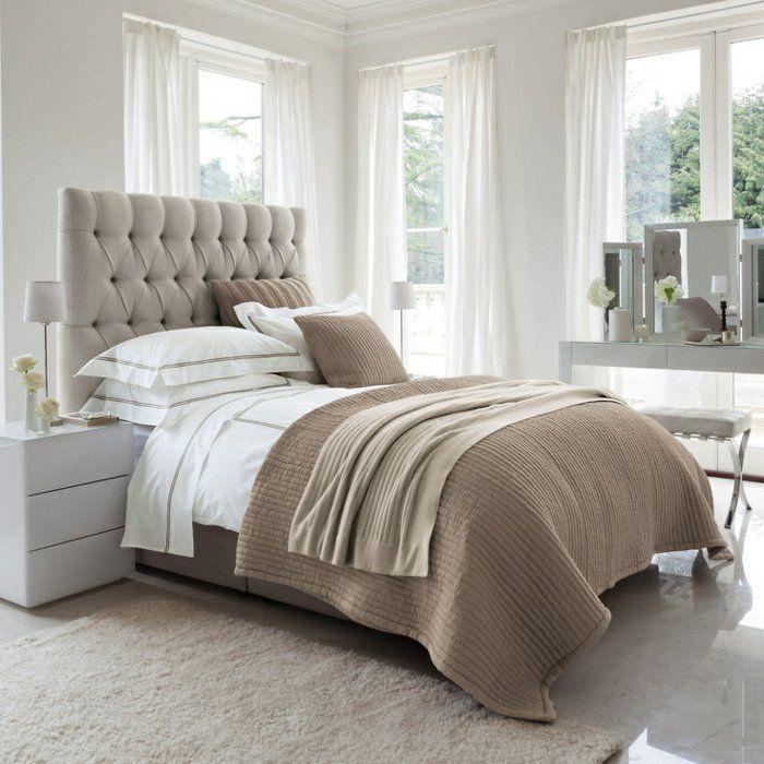 Les meilleures variantes de lit capitonné dans 43 images!   Deco ...