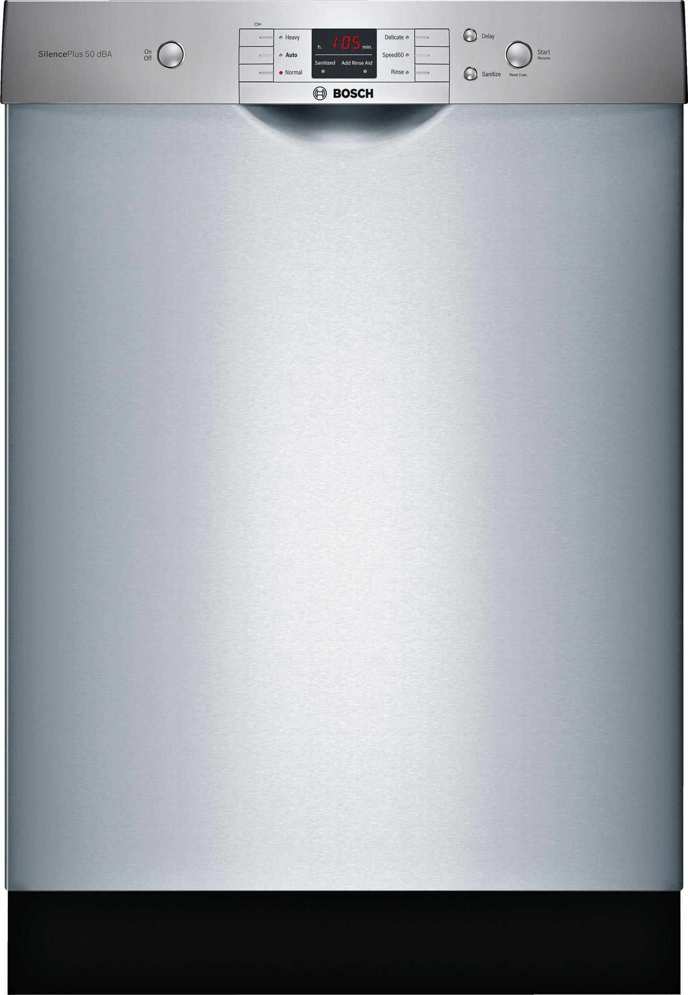 Bosch Ascenta Series Shem3ay55n Built In Dishwasher Delicate