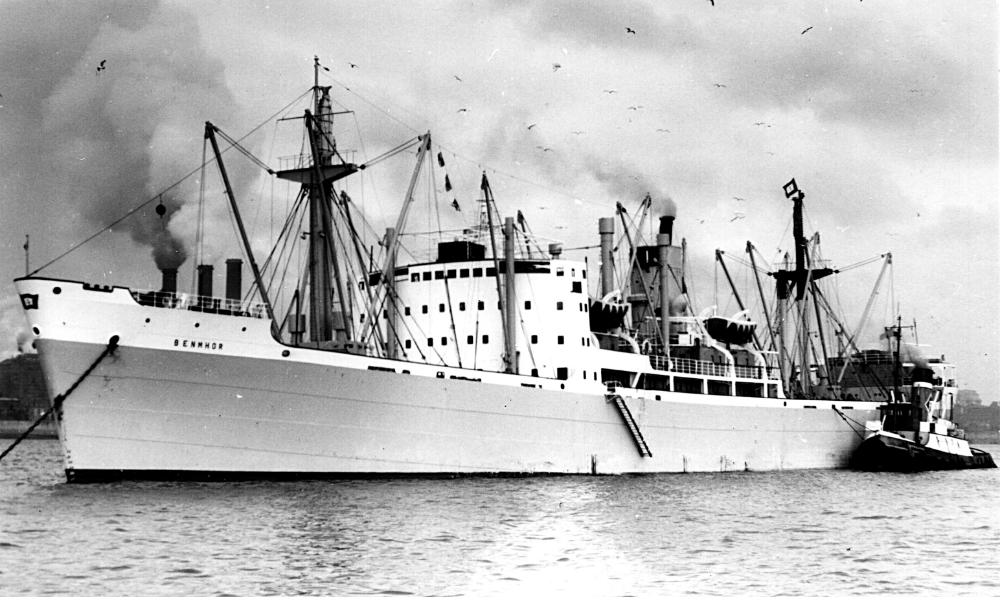 The Benmhor, launched in 1948. Merchant navy, Ship