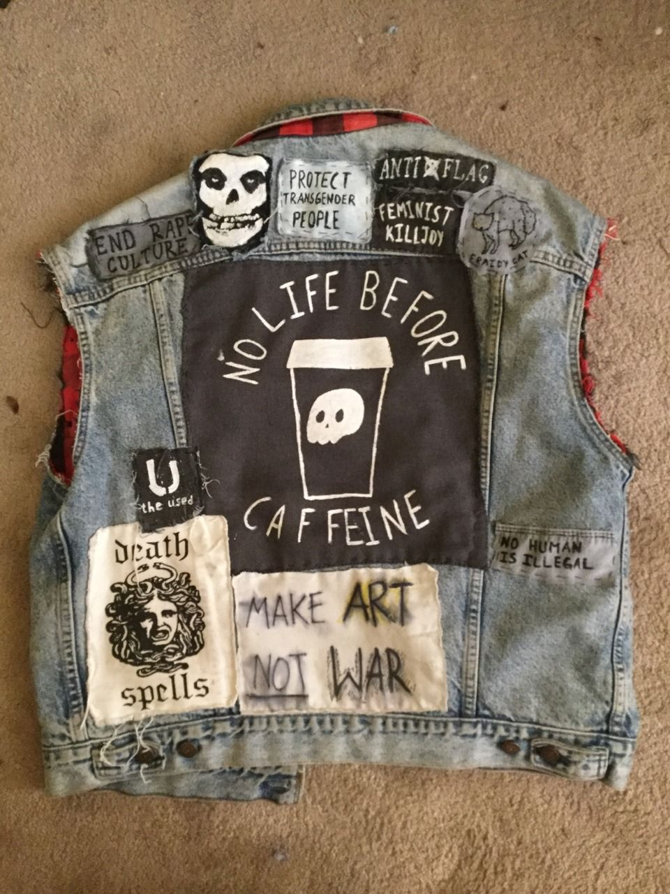 Pin by valentine on Patches ☠ Punk patches, Embroidered