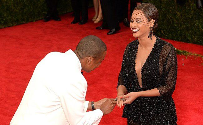 Caption This: Jay Z Proposing to Beyonce at the Met Gala