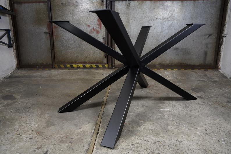 Spinnen Tischbeine Metall Esstisch Beine Stahl Esstisch Beine Moderne Metall Tischbasis Industrielle Tischbeine Fur Live Edge Holz Metal Table Base Metal Dining Table Dining Table Legs