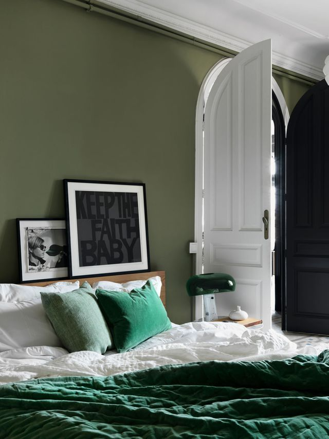 Déco chambre cocooning, cosy Bedrooms, Master bedroom and Interiors - deco chambre turquoise gris