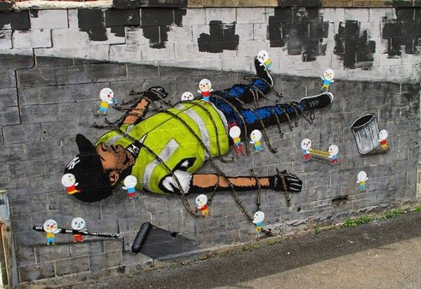 Amazing Pictures | Most amazing pictures on internet today - Part 11 street art, New York