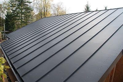 Zinc Roof Zinc Roof House Roof Building A House