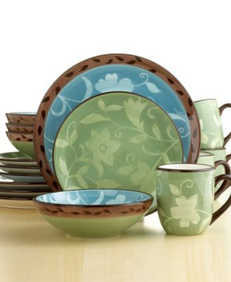 Pfaltzgraff Dinnerware Patio Garden | Dishes : Pfaltzgraff ...