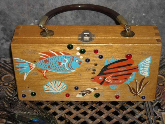 Fish Purse by WendyHue on Etsy, $20.00