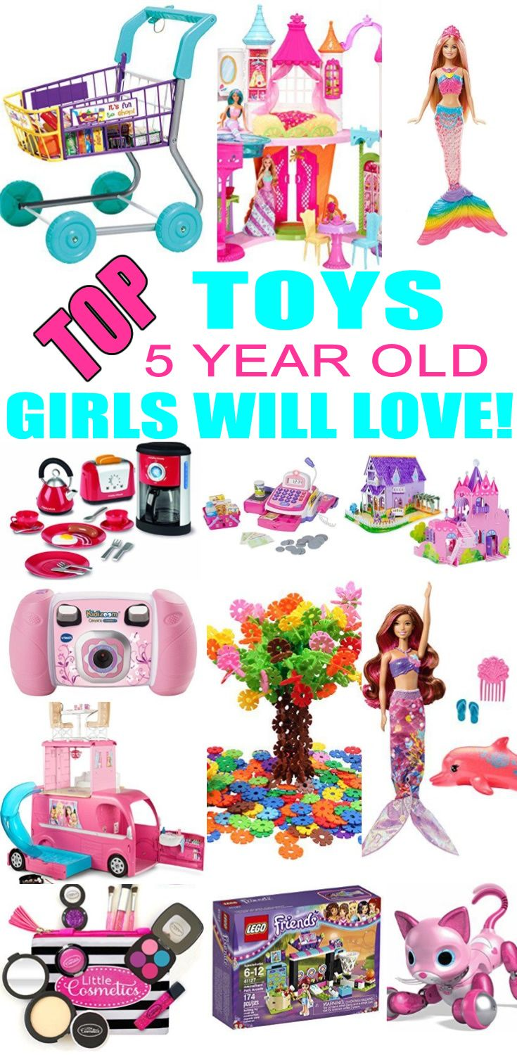 Top Toys For 5 Year Old Girls Best Toy Suggestions Gifts Presents A Fifth Birthday Christmas Or Just Because Find The And