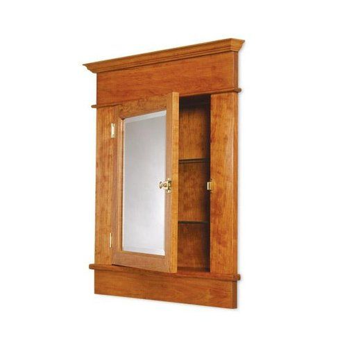 Assembled And Finished Recessed Medicine Cabinet 369 99 Recessed Medicine Cabinet Craftsman Medicine Cabinets Wood Medicine Cabinets