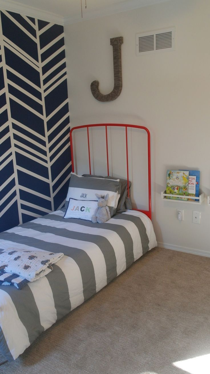 Toddler Room with Herringbone Wall images