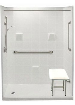 Bathroom Designs For Elderly And Handicapped Delectable Freedom Easy Step Showers  Walk In Showers  Easy Access Walkin Design Inspiration