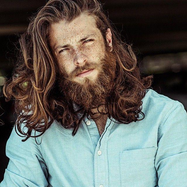 Youbeard On Instagram Beard And Freckles Stunning Photograph Of Lanedorsey Vis Long Hair Beard Long Hair Styles Men Long Hair Styles