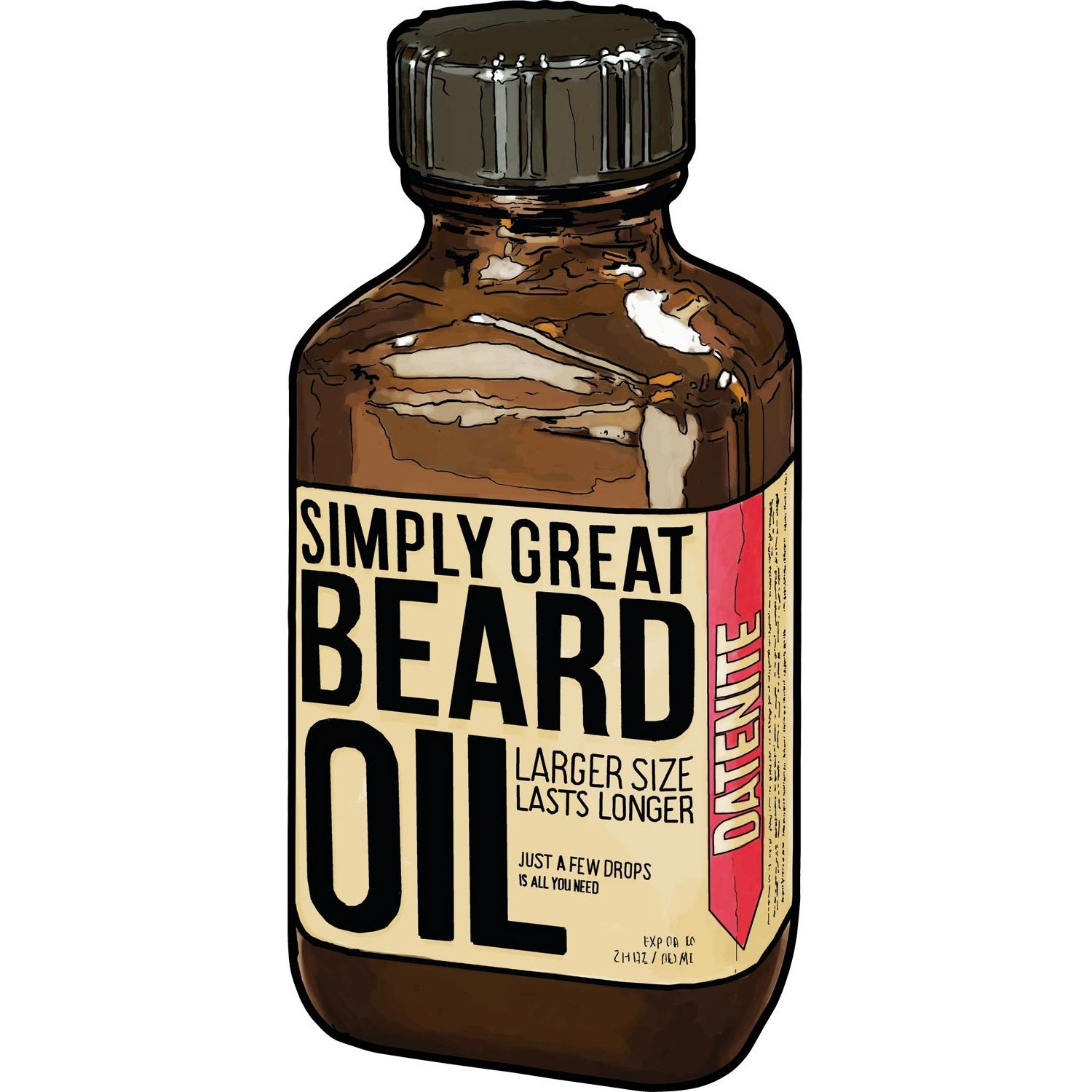 Just a few drops is all you need to keep your beard