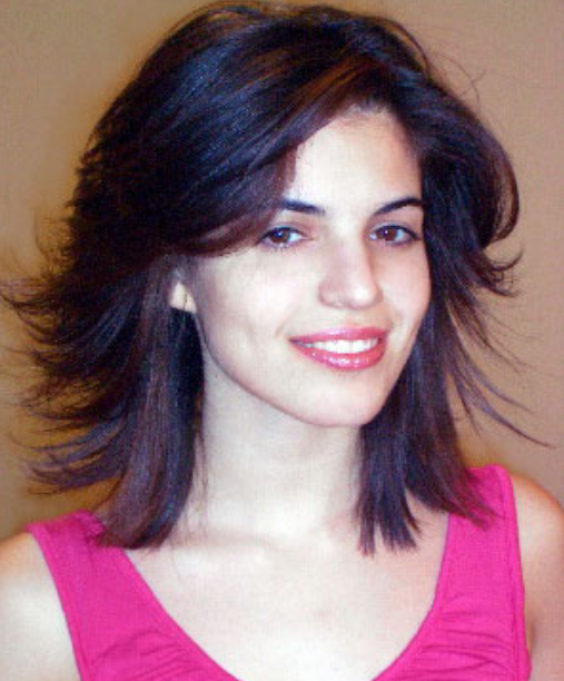 Shoulder Length Hair Angled Around The Face With Long