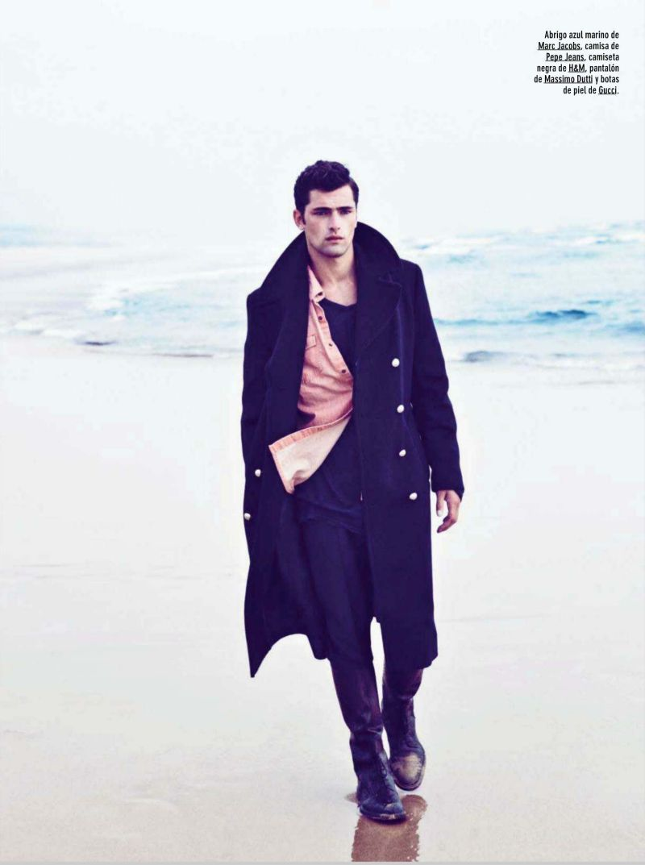 Sean OPry Hits an Abandoned Beach for GQ Spain