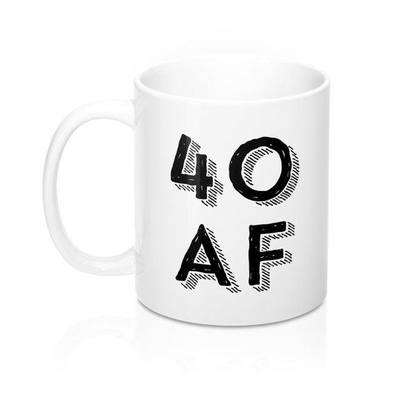 40 AF Birthday Gift Years Old 40th Ideas Gifts For Man