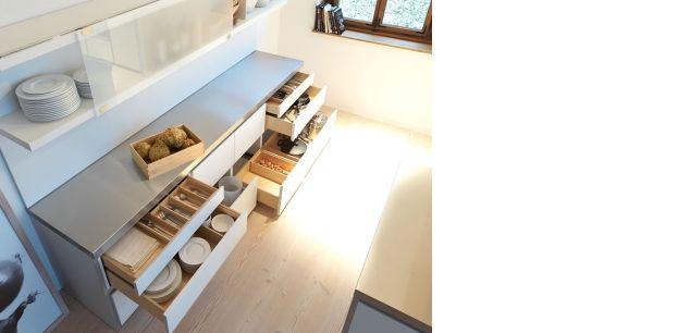 Bulthaup B1 Innenausstattung Birke Massivholz