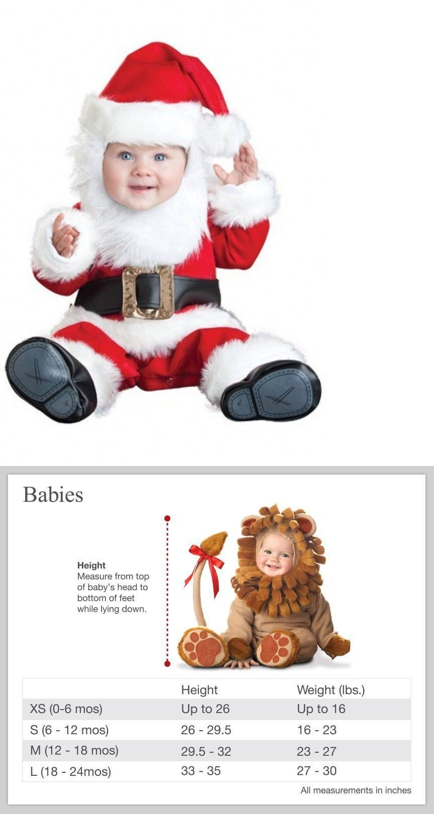 a8724ee3b Infants and Toddlers 90635: Deluxe Santa Baby Costume,Deluxe Infant Toddler  Deluxe Santa Costume, 6-24 Mo S -> BUY IT NOW ONLY: $39.99 on #eBay #infants  ...