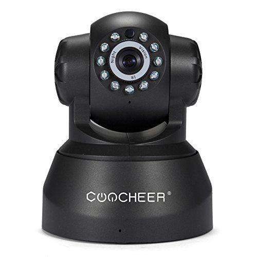 Coocheer P2P Caméra de Surveillance Sans fil HD 720p PAN Tilt Camera ...