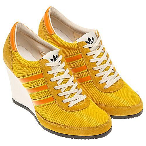 adidas Jeremy Scott Arrow Wedge Shoes  c240c585a358