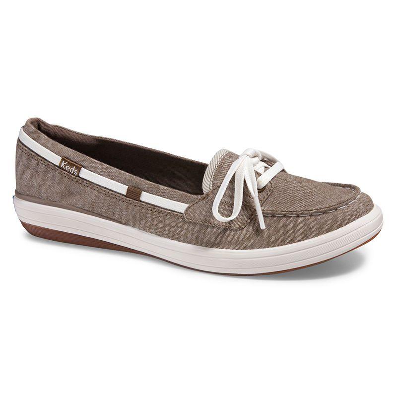 Keds Womens Boat Shoes Slip-on   Slip