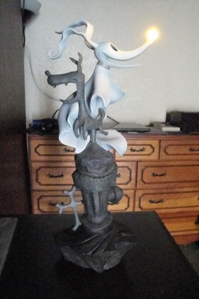 450 75 Disney S Nightmare Before Christmas Zero Light Up Lamp One A Collectible Piece Nightmare Before Christmas Before Christmas Nightmare Before
