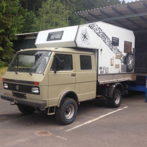 bimobil vw lt 4x4 als wohnmobil andere in schirnrod campers. Black Bedroom Furniture Sets. Home Design Ideas