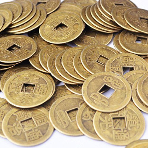 50pcs Feng Shui Fortune Coins I Ching... for only $12.98