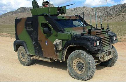 COLT Light Tactical Vehicle (LTV) is a 4x4 tactical vehicle