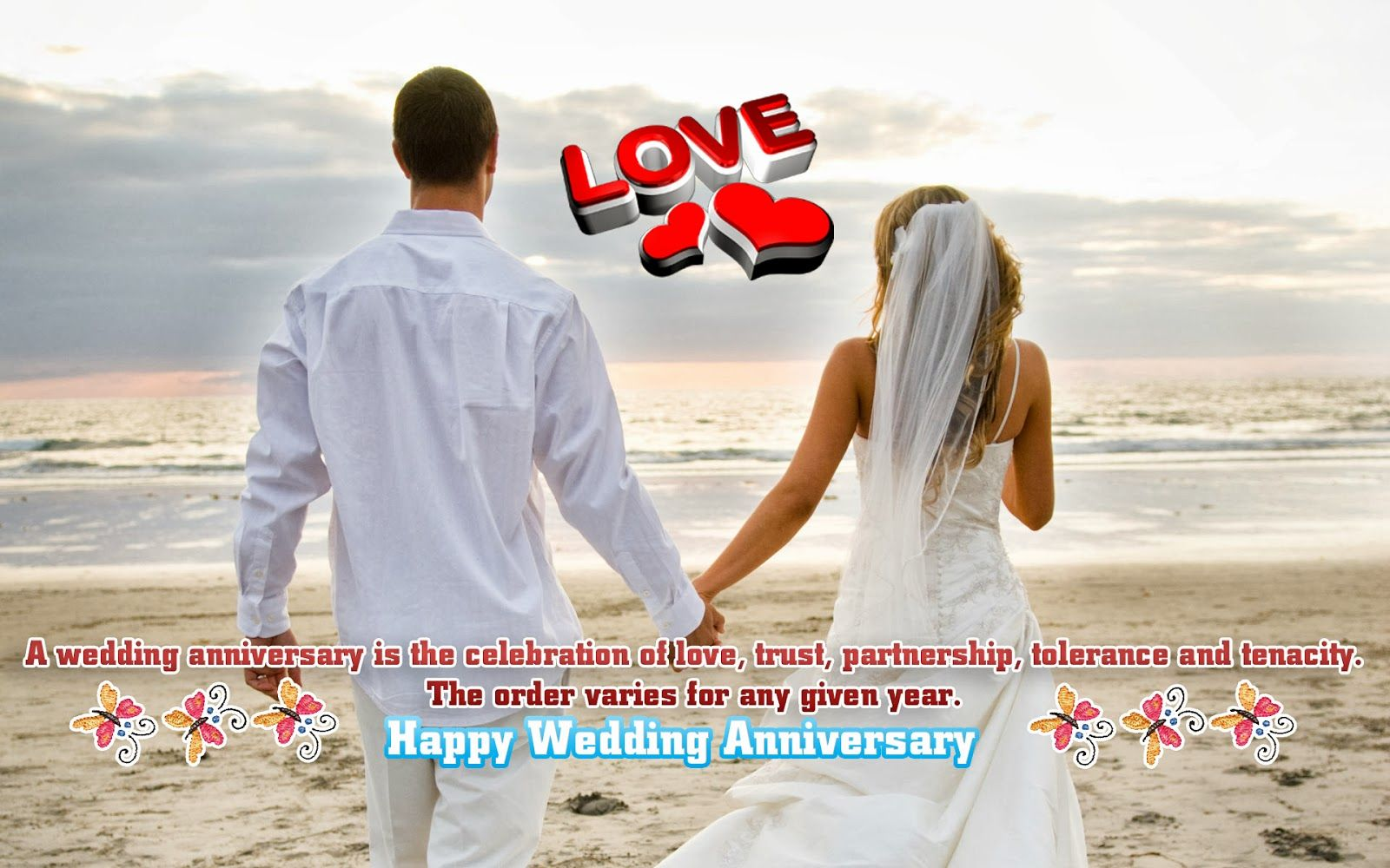 Wallpaper download marriage anniversary - 1st Wedding Anniversary Wishes Wallpapers