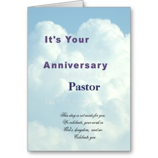 Anniversary Card For Pastor Anniversary Cards Pastor Pastor Anniversary