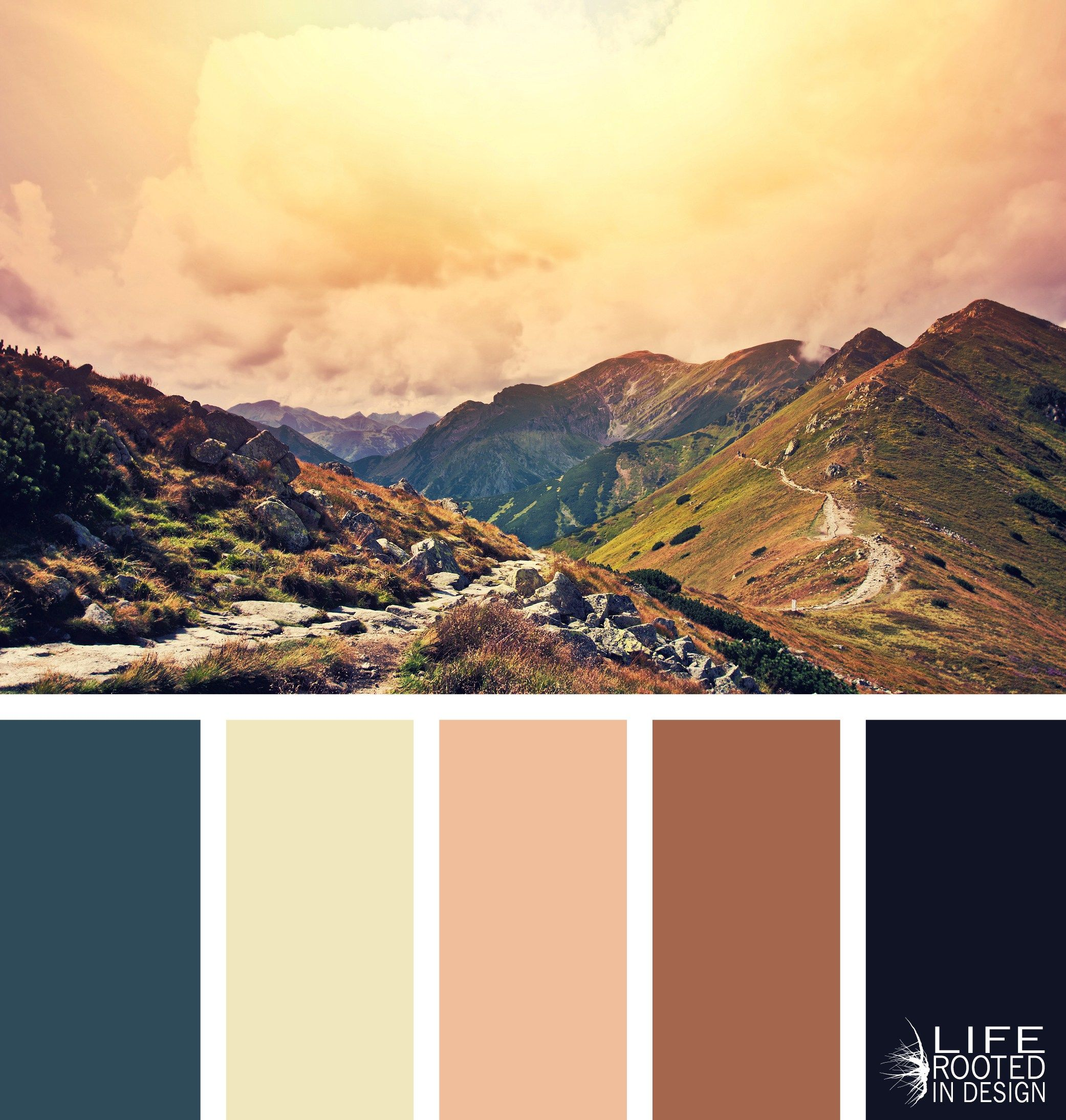 Colors Of The Mountains Natural Mountain Color Palettes  Life