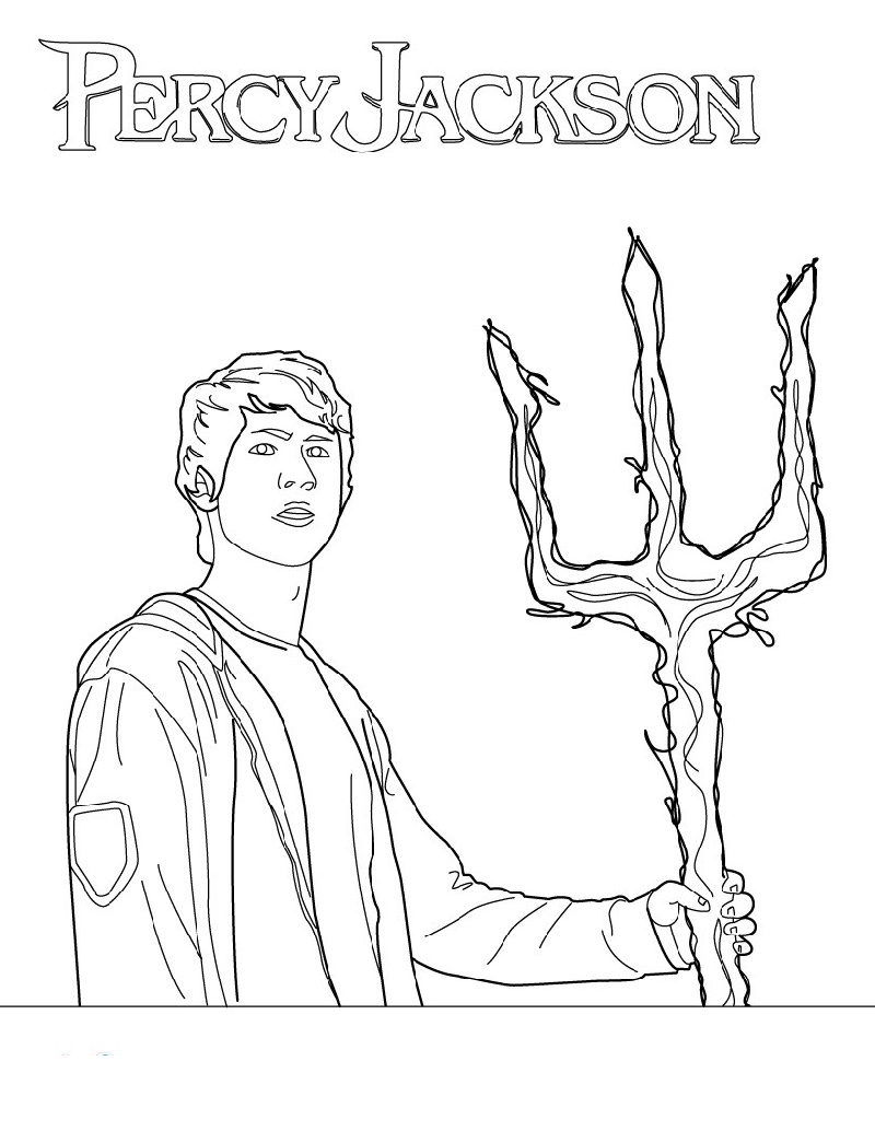 Percy Jackson Coloring Pages : percy, jackson, coloring, pages, Percy, Jackson, Coloring, Pages, Boys,, Pages,