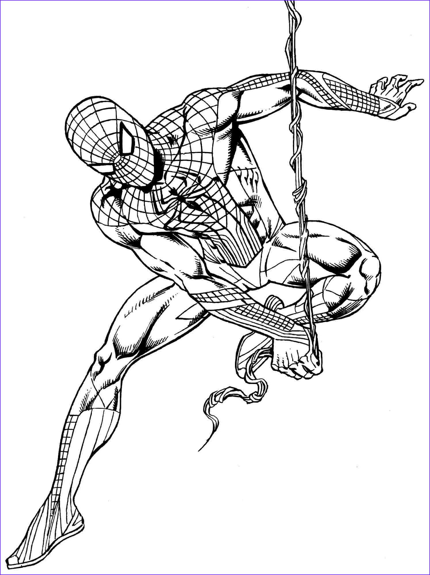 Coloring Superheroes Superhero Coloring Pages Superhero Free