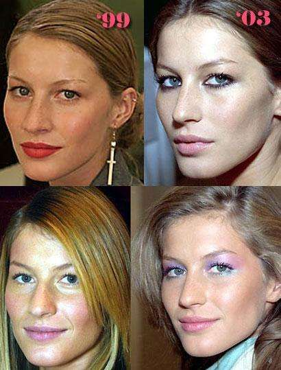 gisele bündchen stars then now young old in 2018 plastic