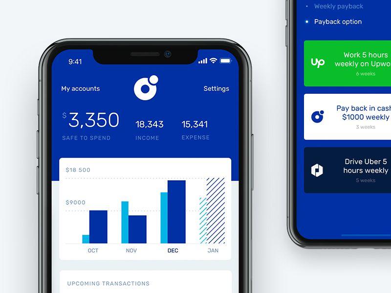 Banking app dashboard for shared economy era | Banking app, Sharing  economy, Banking