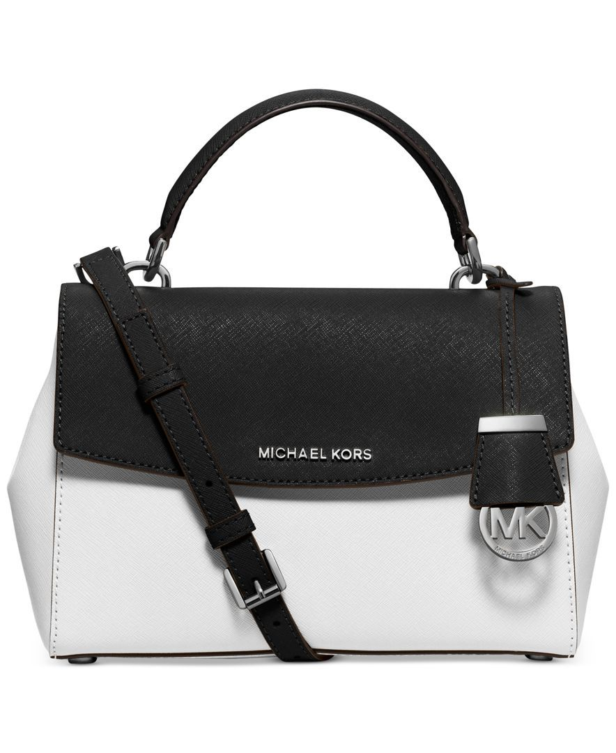 cc34a958e505 Michael Michael Kors Ava Colorblock Small Top Handle Satchel, A Macy's  Exclusive Style