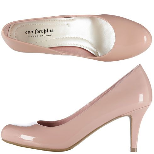 This light pink pump with the gray lace short dress from modcloth. These  are payless for  20 fa43e93c2c3